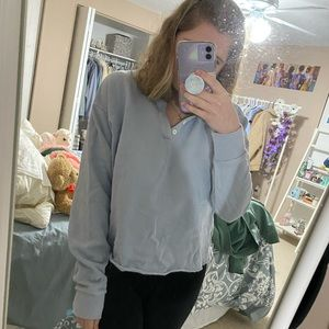 Brandy Melville baby blue sweater